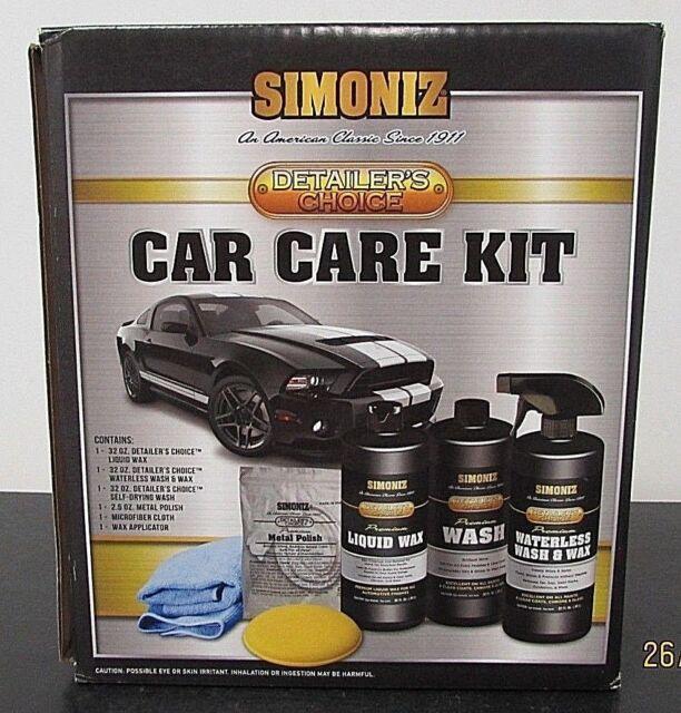 Buy Simoniz Detailers Choice Car Wash Wax Care Kit Online Ebay