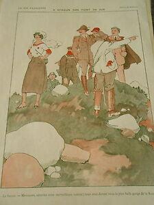 A-Chacun-son-point-de-Vue-Guide-Montagne-Gorge-Suisse-Print-Art-Deco-1910