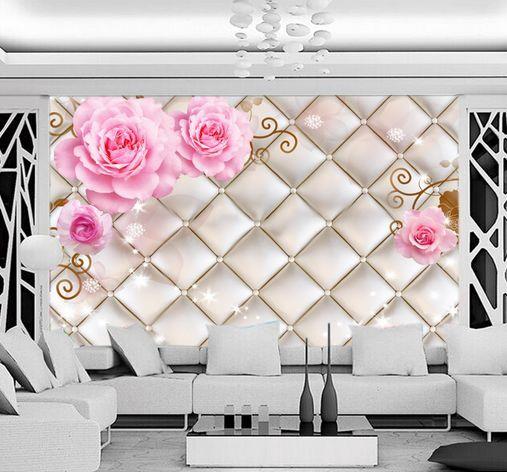 3D griglia d'Silber 9 Parete Murale Carta da parati immagine sfondo muro stampa