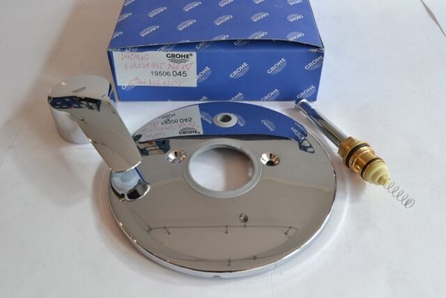 Ricambio Rosone piastra esterna completa di maniglia 19506245 Grohe