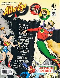 alter ego 132 may 2015 twomorrows 75 years of the flash green lantern ebay
