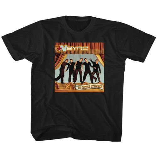 N-Sync Boy Band No Strings Attached Youth T Shirt 2T-YXL Dance Pop Music