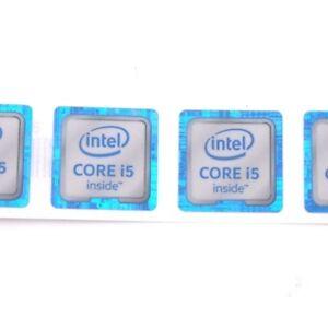 100x-NEW-CORE-I5-inside-Sticker-Badge-Label-case-for-laptop-sliver-18-18mm-ST040