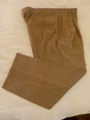 Men's Clothing Nwot Mens 40 X 29.5 St Croix Italy Beige Wool/poly/lycra Corduroy Pants Slacks Attractive Fashion Clothing, Shoes & Accessories