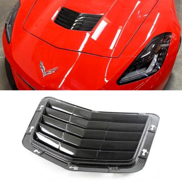 APR Carbon Fiber OEM Hood Vent for Chevy 14-up Corvette C7 CF-700005