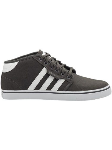 Adidas SEELEY MID Dark Cinder Gray White Skateboarding Men/'s Shoes 245