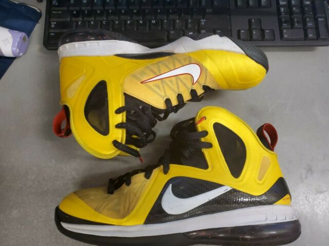 Nike Lebron James Ix 9 Taxi Lakers Elite Size 11 Model 516958 700 For Sale Online Ebay