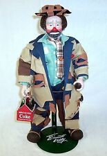 "1999 COCA COLA EMMETT KELLY ""TO MARKET"" 100TH ANNIVERSARY PORCELAIN DOLL"