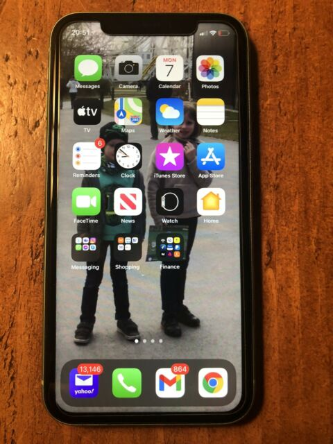 Apple iPhone 11 - 64 Go-Vert (débloqué) A2221 (CDMA + GSM)