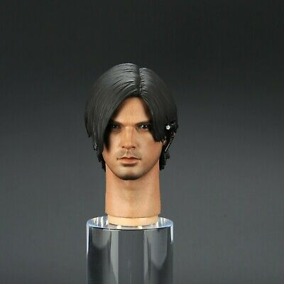 "Custom Resident Evil 1//6 Scale Leon Head Sculpt F 12/"" Hot Toys Body Figures"
