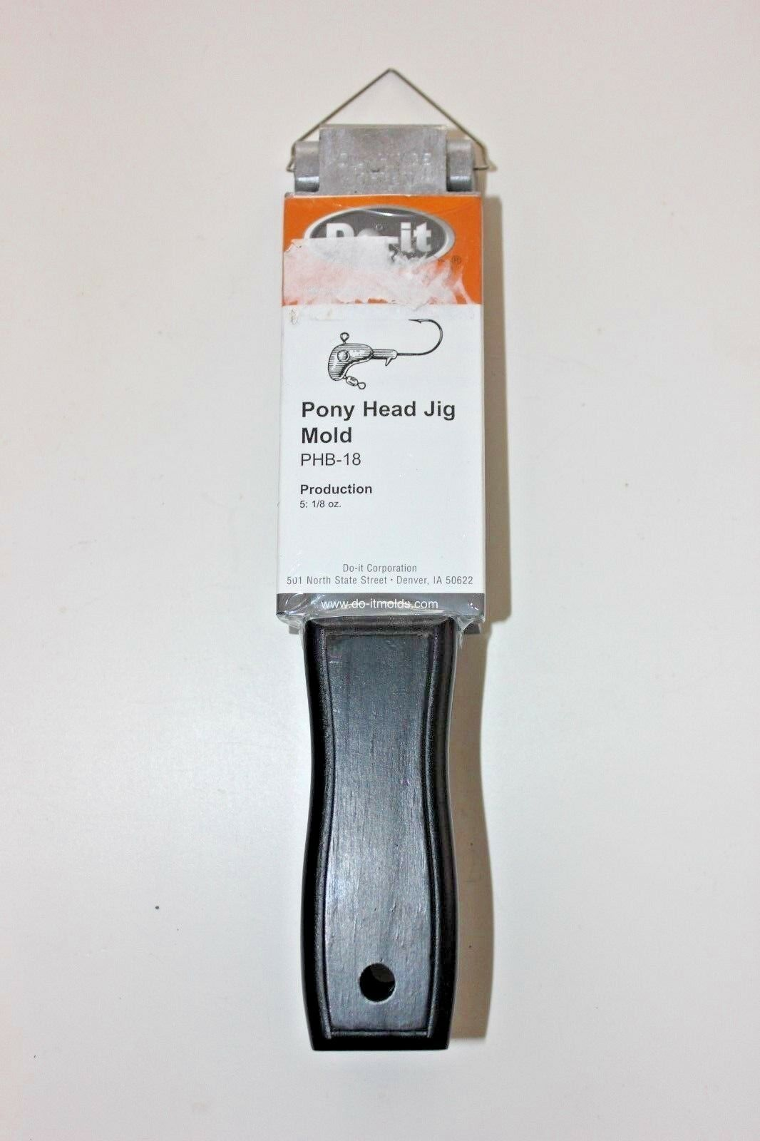 DO-IT DO-IT DO-IT MOLDS PHB-18 PONY HEAD JIG MOLD ccff37