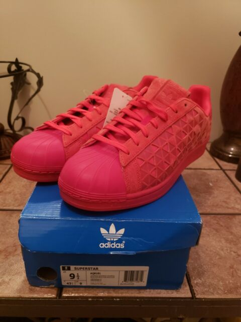 finest selection bfe1e 325a0 Adidas Superstar Xeno AQ8181 Reflective Red Casual Shoes. Men s Size 9.5