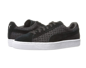 Details about PUMA Men's Suede Classic Emboss V2 Fashion Sneaker | Black | 11.5 M US