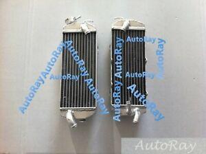Aluminum Radiators for KTM 250 400 450 520 525 MXC EXC 00-02 01 2000 2001 2002
