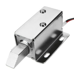 12V-DC-Electric-Lock-Assembly-Solenoid-Long-Locking-Tongue-Cabinet-Drawer-Door-L