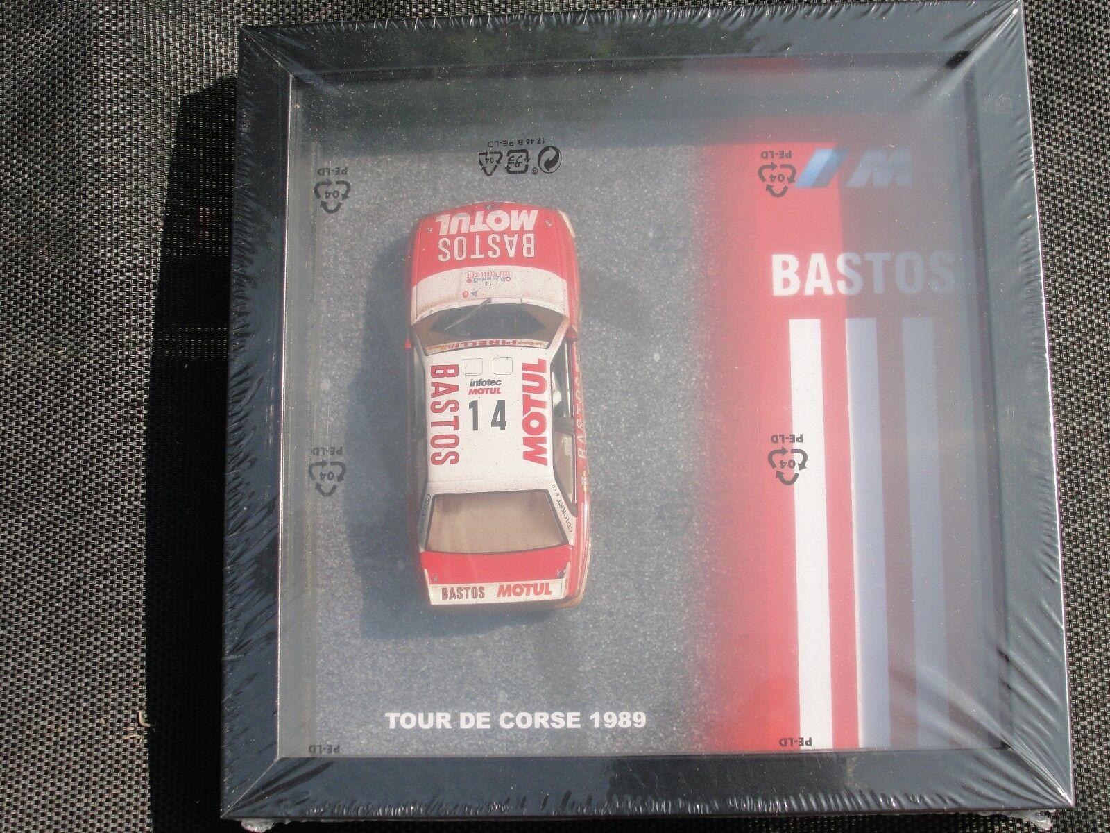 Ranura español BMW M3 Tour de Corse ' 1989' FW038-03 en el caso de exhibición Nuevo Y En Caja.