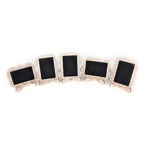 Mini-Wooden-Chalkboard-Blackboard-Message-Table-Number-Wedding-Party-Decor-F-3C