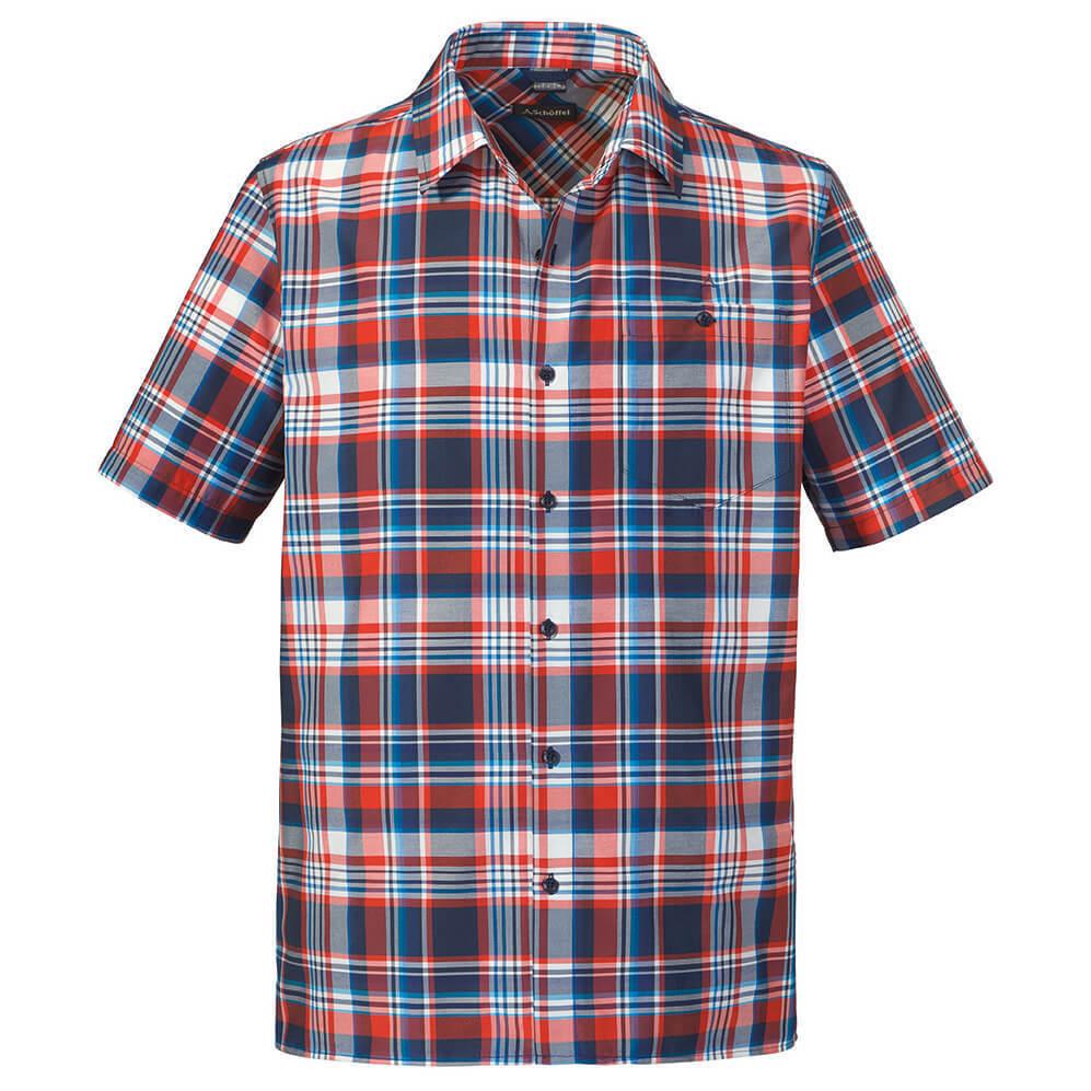 SCHÖFFEL Hemd Shirt BISCHOFSHOFEN 1 kurzarm blue Outdoorhemd Funktionshemd M-3XL
