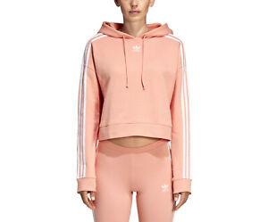 cropped hoodie by adidas originals