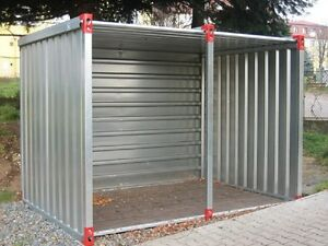 Raucher Pavillion Promotion Messe Standgarten Containerselbstbau