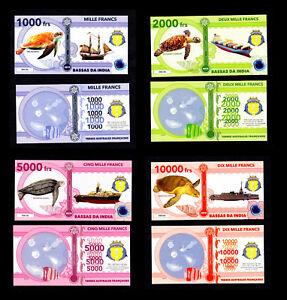 BASSAS-DA-INDIA-TAAF-COLLECTION-DE-4-BILLETS-1000-A-10000-FRANCS