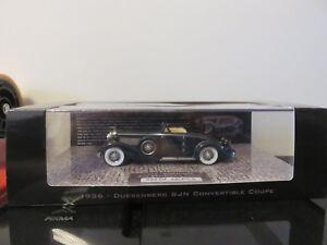 Minichamps Duesenberg Sjn Convertible Coupe 1936 Ed Limited 1/43 Etat Neuf