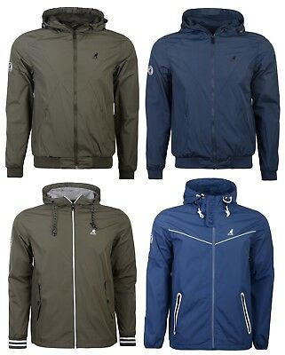 Kangol Boys Camden Lightweight Jacket 8 Blue