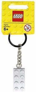 LEGO Classic Metellized Brick 2x 4 Key Chain