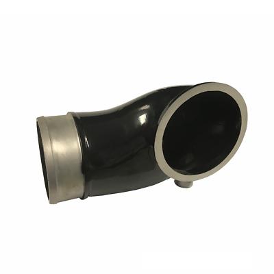 6.6L TURBO INLET TUBE BLACK 2004.5-2005 CHEVY DURAMAX DIESEL LLY