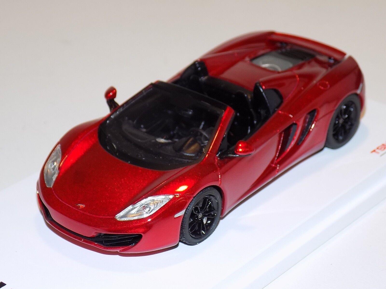 1 43 TRUE SCALE TSM McLaren MP4-12 C Spider en Rouge de 2013 LHD TSM134334