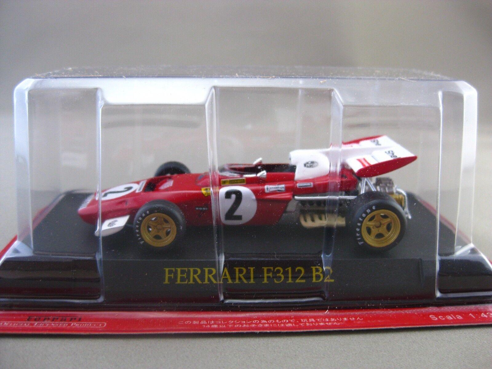 Ferrari 312 B 2 hachette 1:43 Diecast car Vol.39
