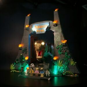 DEL-Light-Up-Kit-pour-lego-75936-Jurassic-Park-T-REX-Rampage-Toy-Building-Block