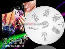 Stamping Schablone für Stampinglack Stempelschablone ORIGINAL KONAD Nr. M29