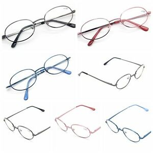 top 3 colors metal frame reading glasses readers strength
