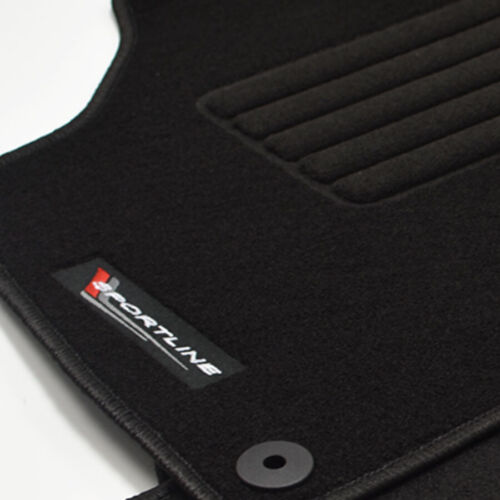 Mattenprofis Velours Fußmatten Logo für Audi TT Coupe 8J ab Bj.08//2006-2014