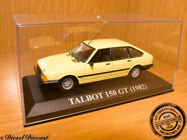 TALBOT 150 GT mjuk gul 1982 1 43 MINT Herregud