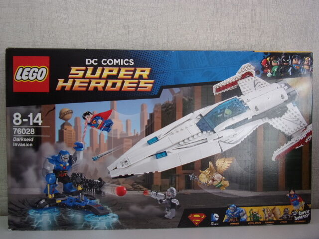 LEGO DC Comics super heroes 76028 Darkseid hold-up-NEUF & OVP