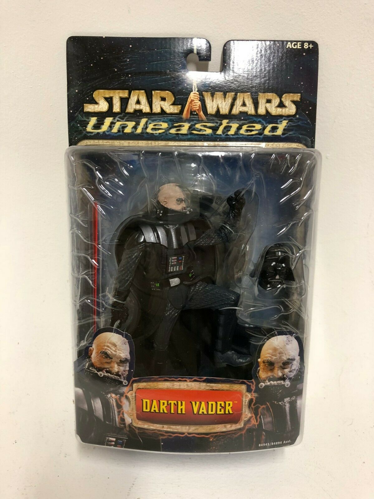 Darth Vader (Unmasked) Unleashed Extremely rare and collectable Star Wars figure