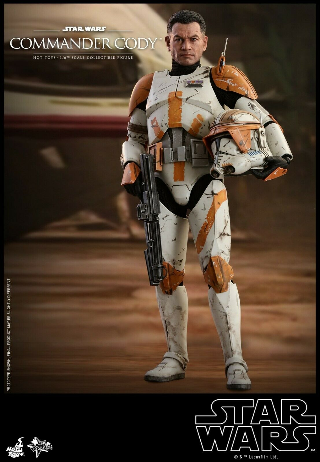 Hot Toys 1 6 Commander Cody 12  Figure Star Wars Episode III Revenge of the Sith