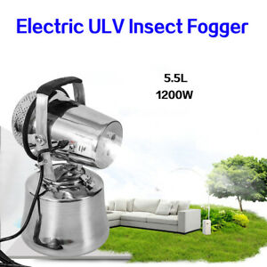 Details about Electric ULV Sprayer Pest Control Mold Insect Fogger Micro  Jet Fogger 110V 1200W