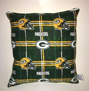 Packers-Pillow-NFL-Pillow-Green-Bay-Packers-Pillow-Football-Pillow-HANDMADE-USA
