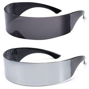 Futuristic-Sunglasses-Wrap-Visor-Mirrored-Lens-Flat-Future-Robot-Costume-Glasses