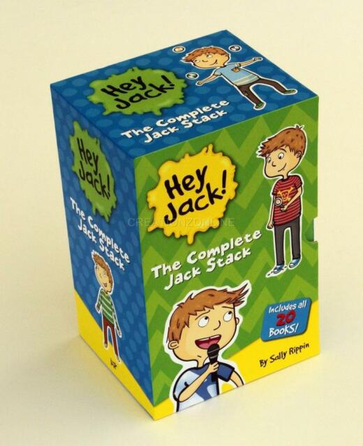 HEY JACK THE COMPLETE JACK STACK 20 BOOKS SALLY RIPPIN  IN SLIP CASE BRAND NEW