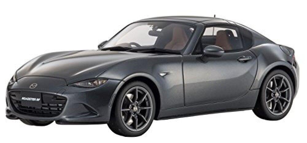 Kyosyo KSR18025GR Mini Coche Samurai 1 18 Mazda Roadster rf grigio completado Japón