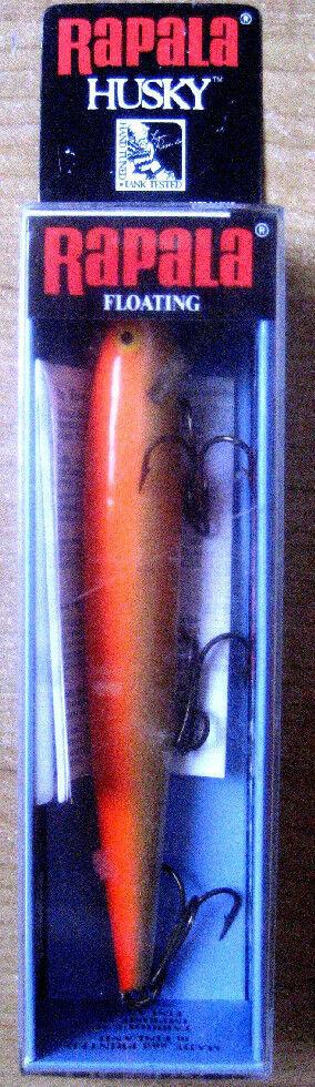 NEW RAPALA Husky H-13 GFR gold Fluorescent Red fishing lure bait crankbait NIB