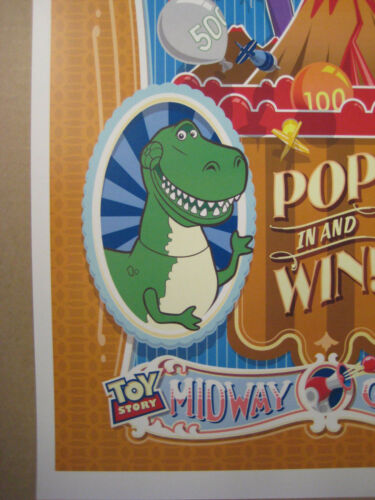 "B2G1F Collector/'s Poster Print Disney Pixar 11/"" x 17/"" Toy Story Dino Darts"