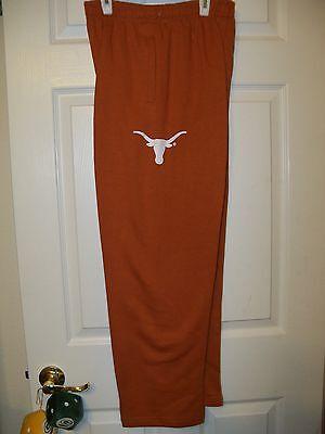 12 NWT Texas Longhorns Football Exercise Sweat Athletic Pants Boys Size 10