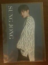 Infinite f sungjong  japan JP official Photocard  Kpop K-pop +  freebies