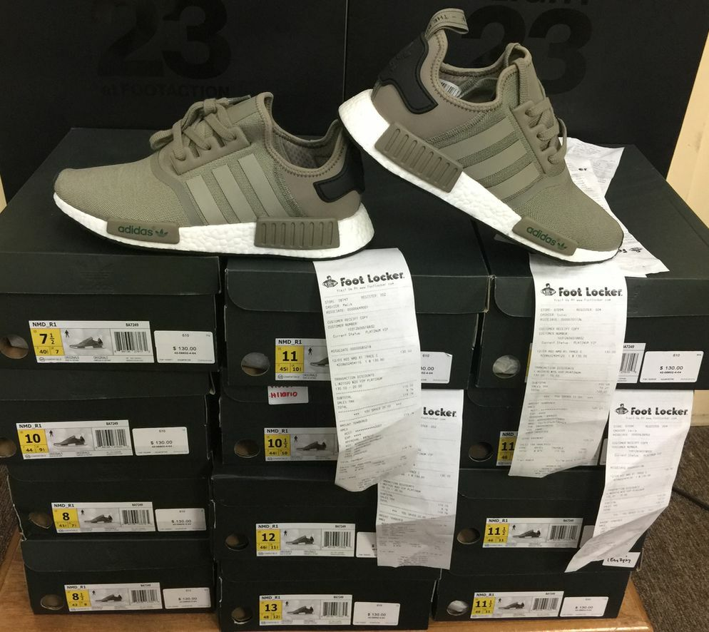 Adidas NMD_R1 Nomad Boost Trace Cargo 3M Reflective BA7249