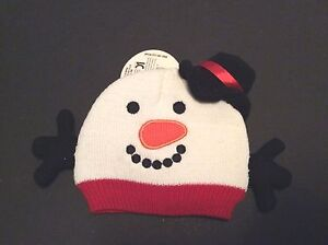 c8f44f03 So'Dorable Winter Snowman Baby Knit Hat Ages 0 to 6 Months Stocking ...